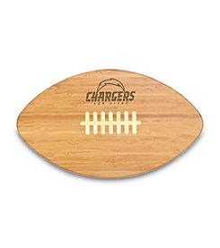 NFL® San Diego Chargers Touchdown Pro! Engraved Cutting Board