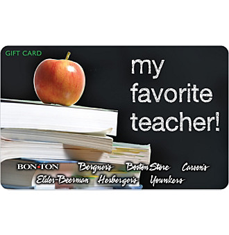 Gift Card - Favorite Teacher