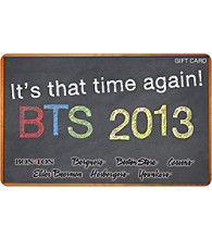 Gift Card - Back To School Chalk Board