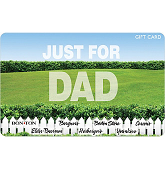 Gift Card - Just for Dad