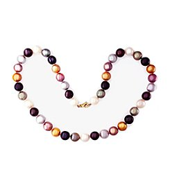 Effy® 9-9.5mm Multicolor Freshwater Pearl Necklace