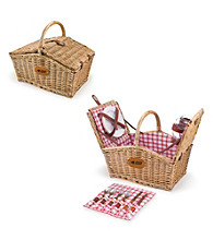 Picnic Time® Carolina Panthers Piccadilly Picnic Basket