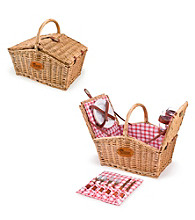 Picnic Time® New England Patriots Piccadilly Picnic Basket