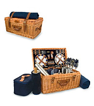 Picnic Time® New England Patriots Windsor Picnic Basket