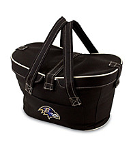 Picnic Time® Baltimore Ravens Mercado Insulated Basket