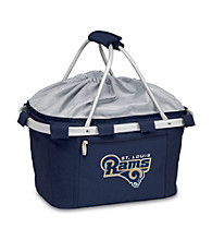 Picnic Time® NFL® Metro Basket - St. Louis Rams Digital Print
