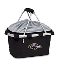 Picnic Time® NFL® Metro Basket - Baltimore Ravens Digital Print