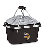 Picnic Time® NFL® Metro Basket - Minnesota Vikings Digital Print