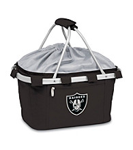 Picnic Time® NFL® Metro Basket - Oakland Raiders Digital Print