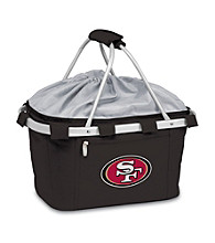 Picnic Time® NFL® Metro Basket - San Francisco 49ers Digital Print