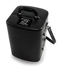 Picnic Time® NFL® Manhattan Portable Cocktail Case - Carolina Panthers Engraved