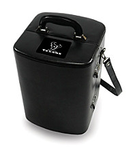 Picnic Time® NFL® Manhattan Portable Cocktail Case - Houston Texans Engraved