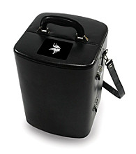 Picnic Time® NFL® Manhattan Portable Cocktail Case - Minnesota Vikings Engraved
