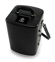 Picnic Time® NFL® Manhattan Portable Cocktail Case - New Orleans Saints Engraved