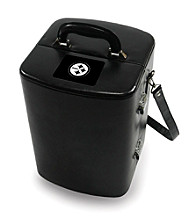 Picnic Time® NFL® Manhattan Portable Cocktail Case - Pittsburgh Steelers Engraved