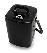 Picnic Time® NFL® Manhattan Portable Cocktail Case - San Diego Chargers Engraved