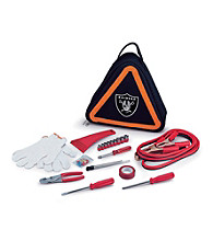 Picnic Time® NFL® Roadside Emergency Kit - Oakland Raiders Digital Print