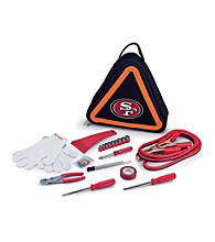 Picnic Time® NFL® Roadside Emergency Kit - San Francisco 49ers Digital Print