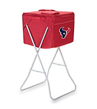 Picnic Time® NFL® Party Cube - Houston Texans Digital Print