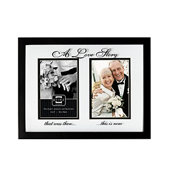"Prinz® 2-Opening 4""x6"" ""A Love Story"" Picture Frame"