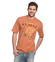 Ruff Hewn Men's Cinnamon Heather Graphic Screen Tee
