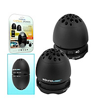 SoundLogic™ USB Rechargeable Egg Nesting Speakers