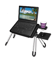 Laptop Buddy™ Black Portable Laptop Table