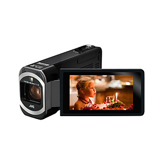 "JVC 1080p HD Digital Camcorder with 3"" LCD Touchscreen and 10MP Resolution"
