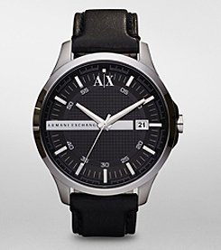A|X Armani Exchange Men's Black Dial Watch