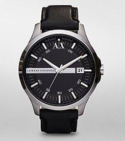 A|X Armani Exchange Men's Black Dial Watch