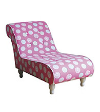 Acme Cindy Pink Kids' Chaise Lounge
