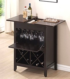 Acme Leo Wenge Finish Wine Rack