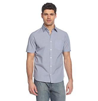Calvin Klein Men's Monaco Plaid Woven Shirt