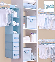 Delta Blue 48-pc. Nursery Storage Set
