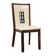 Powell® Bradley Set of 2 Espresso Dining Side Chairs