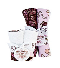 Trend Lab Rodeo Princess Bib & Burp Cloth Set