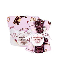 Trend Lab Rodeo Princess Hooded Towel & Wash Cloth Set