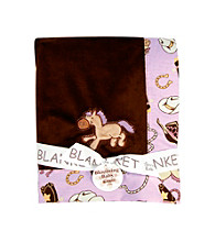 Trend Lab Rodeo Princess Receiving Blanket
