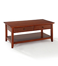 Crosley Furniture Cocktail Table with Storage Drawers