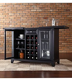 Crosley Furniture Newport Sliding Top Bar Cabinet