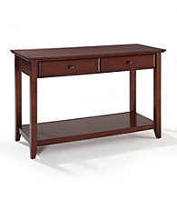 Crosley Furniture Console with Storage Drawers