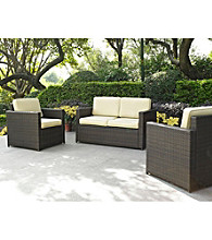 Crosley Furniture Palm Harbor Loveseat & Set of 2 Chairs