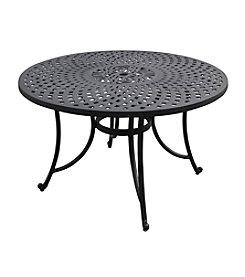 "Crosley Furniture Sedona 48"" Charcoal Black Cast Aluminum Dining Table"