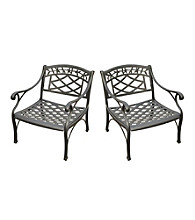 Crosley Furniture Sedona Set of 2 Outdoor Club Chairs