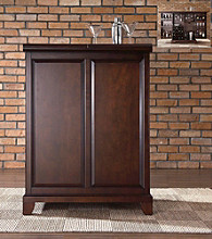 Crosley Furniture Newport Expandable Bar Cabinet