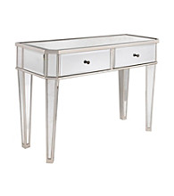 Powell® Mirrored & Silver Console Table