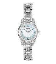 Bulova®Women's Crystal Encrusted Watch
