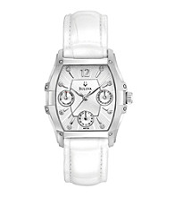 Bulova® Women's Multifunction Diamond Dial Watch