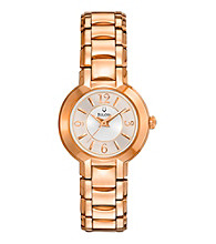 Bulova®Women's Rose Goldtone Stainless Steel Watch