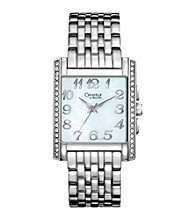 Caravelle® By Bulova Ladies' Crystal Watch